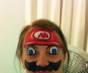 Prawdziwa fanka Mario