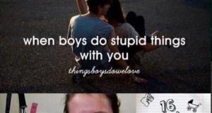 Ach, te głupoty z dziewczynami...