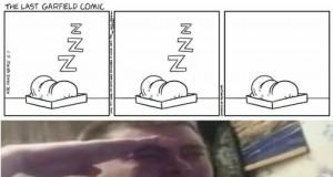 Ostatni komiks z Garfieldem
