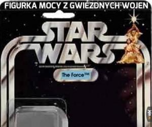 Figurka mocy z Gwiezdnych Wojen