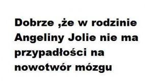 Angelina Jolie ma szczęście