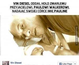 Vin Diesel uczcił pamięć przyjaciela