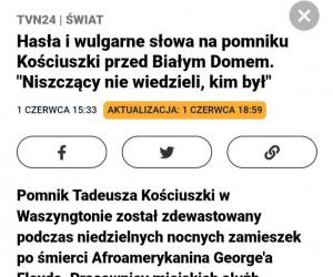 To może spotkać się z odwetem Polonii