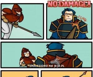 No damage!