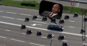O prezydent jedzie!