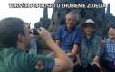 Turyści poprosili o zrobienie zdjęcia