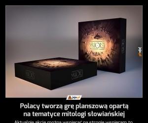 Polacy tworzą grę planszową opartą na tematyce mitologi słowiańskiej
