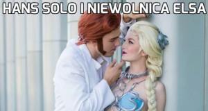 Hans Solo i niewolnica Elsa