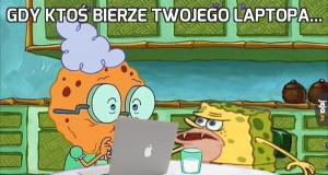 Gdy ktoś bierze Twojego laptopa...
