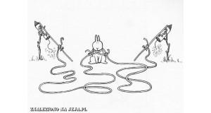 Samobójstwa zajączka: Zajączek i race