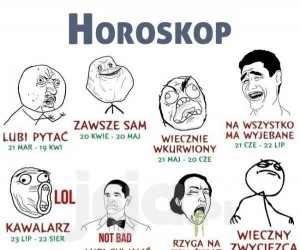 Memowy horoskop