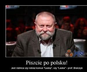 Piszcie po polsku