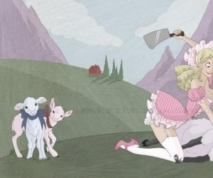 Mary miała małą owieczkę