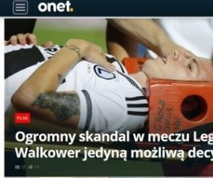 Duda ranny w meczu przeciwko FK Kukesi. Reakcja Kwaśniewskiego.