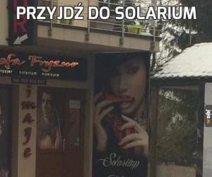 Przyjdź do solarium