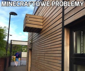 Minecraftowe problemy