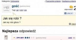 Głupie pytanie - głupia odpowiedź