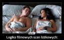 Logika filmowych scen łóżkowych: