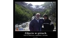 Zdjęcie w górach