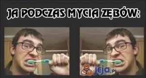 Gdy myję zęby