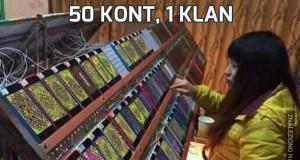 50 kont, 1 klan