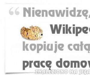 Wikipedia - czemu wciąż mi to robi?
