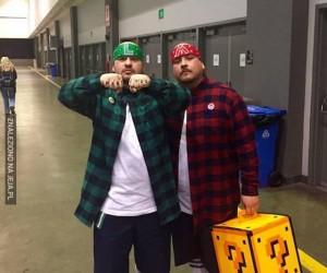 Mario i Luigi na dzielni