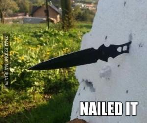 Rzut nożem
