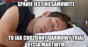 Kocham spać