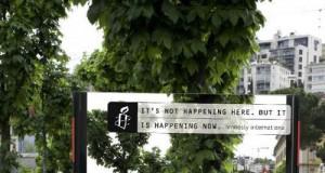 """Kampania Amnesty International """"Nie tutaj, ale teraz"""""""