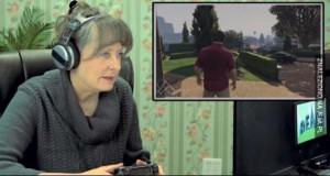 Starsza pani gra w GTA V