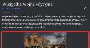 Wikipedia umie w memy