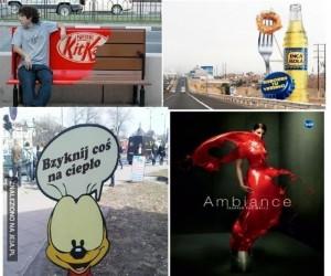Pomysłowe reklamy