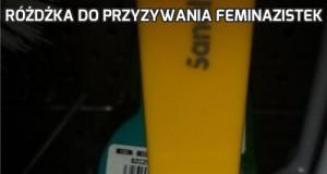 Różdżka do przyzywania feminazistek