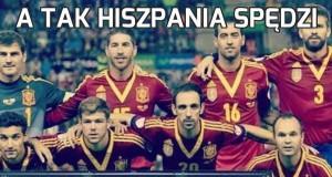 A tak Hiszpania spędzi