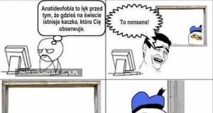 Anatideofobia