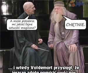 Jak Voldemort stracił swój nos...