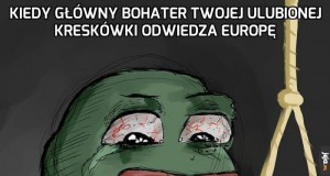 Kiedy główny bohater twojej ulubionej kreskówki odwiedza europę