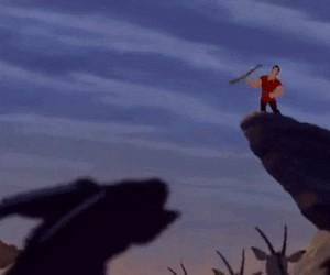 Wycięta scena z Króla Lwa