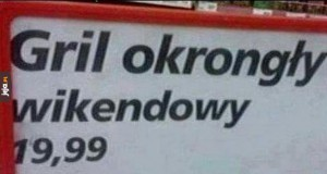 Gril wikendowy