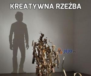 Kreatywna rzeźba