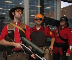 Cosplay z Team Fortress