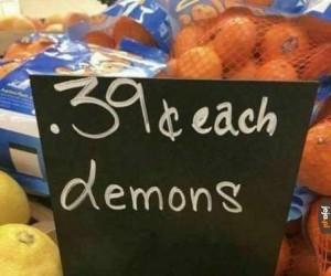 Tanie te demony