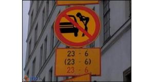 Zakaz patrzenia w szybę