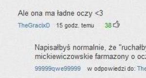 Takie tam w komentarzach na YouTube