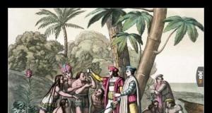 W chwili, gdy Kolumb przypłynął do Ameryki