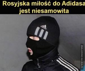 Rosja kocha Adidasa