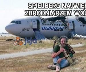 Spielberg największym zbrodniarzem wojennym
