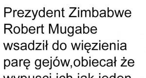Tolerancja w Zimbabwe
