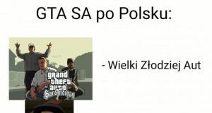 GTA SA - postacie w polskiej wersji